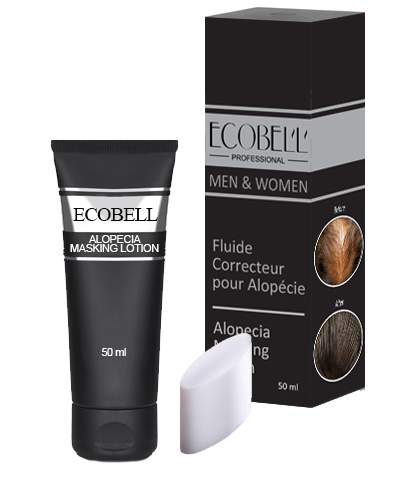 Ecobell Alopecia Scalp Concealing masking Lotion 50ml MEDUIM BROWN