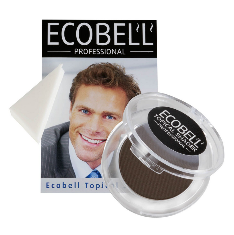 Ecobell Topical Hairloss Shader and Concealer 25g LIGHT BROWN