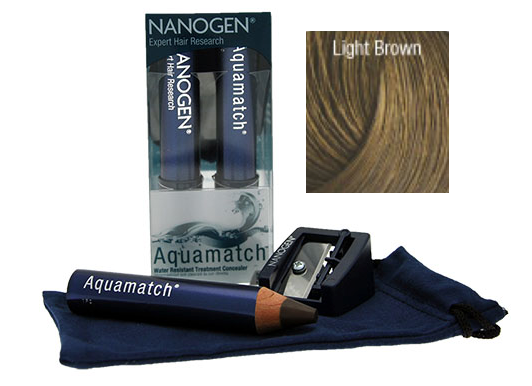Aquamatch Hair Concealer Light Brown