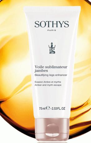 Sothys Beautifying legs enhancer Amber and myrrh escape 75ml